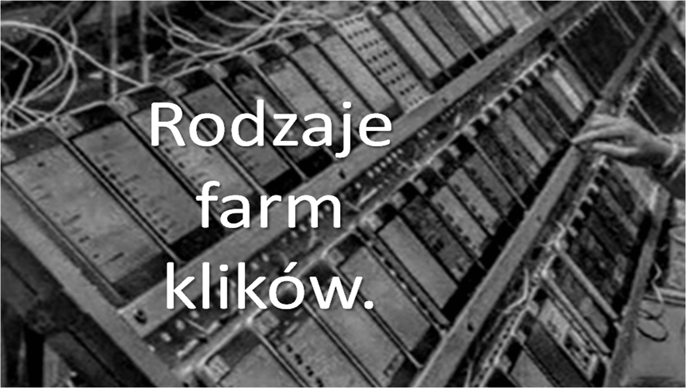 Rodzaje farm klików